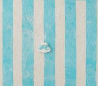 水色の縞模様の上に富士山 20041000272| 写真素材・ストックフォト・画像・イラスト素材|アマナイメージズ