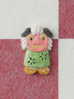 市松模様の上に獅子舞 20041000314| 写真素材・ストックフォト・画像・イラスト素材|アマナイメージズ