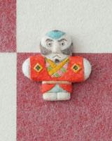 市松模様の上に奴凧 20041000316| 写真素材・ストックフォト・画像・イラスト素材|アマナイメージズ