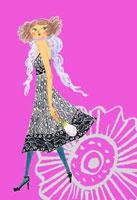振り向く女の子 20041000375| 写真素材・ストックフォト・画像・イラスト素材|アマナイメージズ