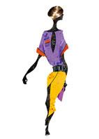スカート姿の女性 20041000386| 写真素材・ストックフォト・画像・イラスト素材|アマナイメージズ