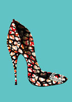 ヒールの靴 20041000389| 写真素材・ストックフォト・画像・イラスト素材|アマナイメージズ