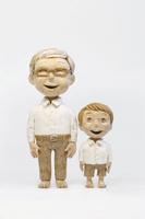おじいちゃんと孫 20041000464| 写真素材・ストックフォト・画像・イラスト素材|アマナイメージズ