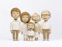 3世代家族 20041000476| 写真素材・ストックフォト・画像・イラスト素材|アマナイメージズ
