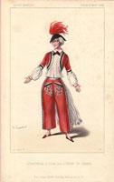 Levassor in red carnival costume