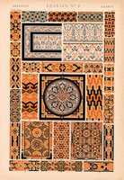 Arabian decorative patterns