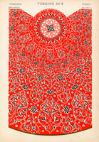 Turkish decorative pattern