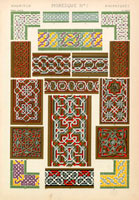 Islamic decorative patterns
