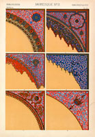 Islamic decorative corners