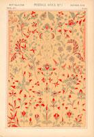 Medieval European floral pattern