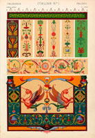 Italian decorative patterns