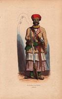 Indian sepoy officer