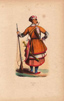 Circassian soldier with rifle