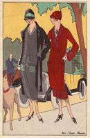 Women in suits walking a dog 20042001069| 写真素材・ストックフォト・画像・イラスト素材|アマナイメージズ