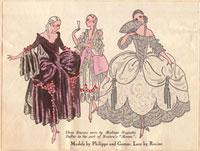 18th century dresses for the stage 20042001073| 写真素材・ストックフォト・画像・イラスト素材|アマナイメージズ