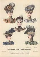 Five women in hats