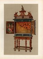 Positive organ or chamber organ