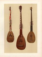 Chitarroni or bass lute