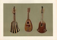 Quintena (Italian guitar) and mandoline lute