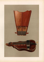 Bell harp and hurdy gurdy