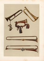 Cavalry bugle,trumpets 20042001185| 写真素材・ストックフォト・画像・イラスト素材|アマナイメージズ
