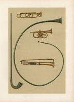 Lituus,buccina,cornet,trumpets