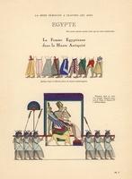 Ancient Egypt, skirts, palanquin