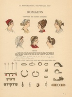Ancient Rome, hairstyle, jewelry