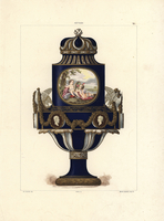 Aux Colombes vase