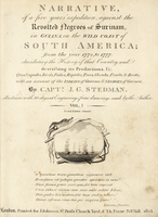Title page with vignette of slave ships.