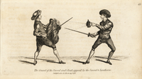 Sword and cloak versus sword and lantern.