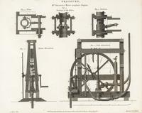 John Smeaton's water pressure engine.