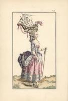Woman in the Belle Poule hat,