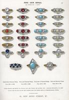Fine gem rings in ruby, diamond. 20042003740| 写真素材・ストックフォト・画像・イラスト素材|アマナイメージズ