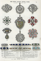 Fifty guinea jewels.