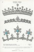 Diamond tiara and necklace.