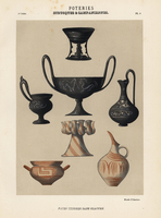 Etruscan and Campanian pottery.