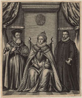 Queen Elizabeth I,Sir Francis Walsingham,William Cecil,1s