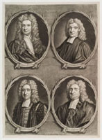 Worthies of Britain' (Sir Isaac Newton,Edmond Halley,Nich