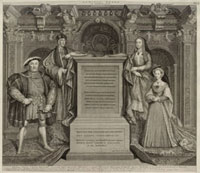 King Henry VIII,King Henry VII,Elizabeth of York,Jane Sey