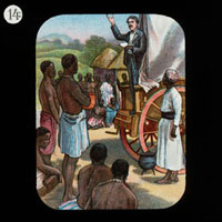 Preaching from a Waggon (David Livingstone)