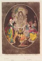 A phantasmagoria,- scene - conjuring-up an armed-skeleton'