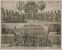 Execution of King Charles I (includes portraits of Thomas Fa