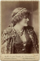 Dame (Alice) Ellen Terry as Guinevere in 'King Arthur'