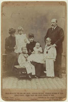 King Edward VII with his family (Princess Victoria Alexandra