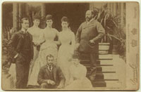 King Edward VII and his family (Prince Albert Victor,Duke o