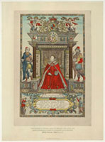 Queen Elizabeth I as patroness of Geography and Astronomy