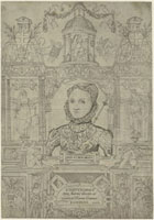 Queen Elizabeth I (Frontispage to Compendiosa totius anatomi
