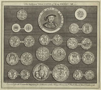The Gold and Silver Coins of King Henry VIII