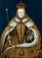 Queen Elizabeth I 20043001124| 写真素材・ストックフォト・画像・イラスト素材|アマナイメージズ